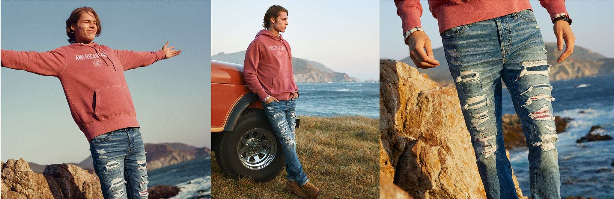 Сильно обтягивающие джинсы (Skinny)