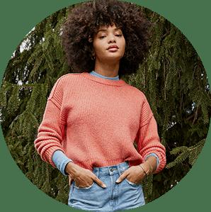 Женские свитеры и кардиганы